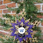 University Of Washington Ornament UW Huskies Ornament UDUB Christmas