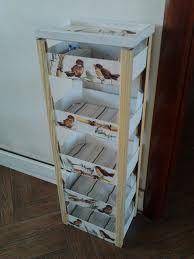 mueble de cajas de fresas