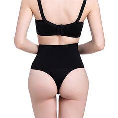 e03af48029 Women High Waist Trainer Tummy Slimming Control Waist Cincher Body Shaper  Thong G-string Butt Lifter Seamless Panties - Tech Slime