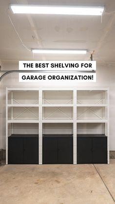Home Renovation, Home Remodeling, Garage Design, House Design, Garage House, Garage Doors, Home Organization Hacks, Small Garage Organization, Garage Makeover