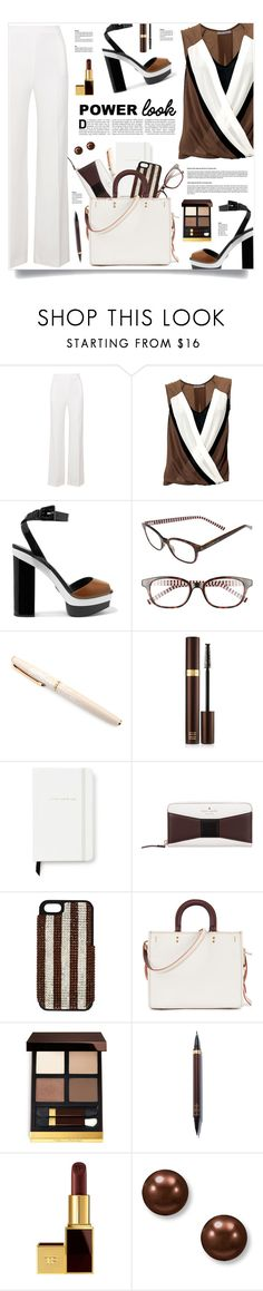 """Girl Power"" by kiki-bi ❤ liked on Polyvore featuring Roland Mouret, Michael Kors, Kate Spade, Fountain, Tom Ford, Henri Bendel, Coach, Suzy Levian, MyStyle and MyPowerLook"