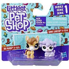 Littlest Pet Shop Series 1 Dru McHoof & Kimmy Lambton