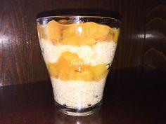 Budinca de quinoa cu piersici