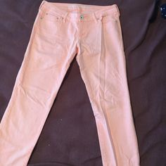 Pink jeans Only worn once for twin day in high school, a little stretchy, have been packed away in my drawer forever so they are a little wrinkly, but they are cute. The brand is Bullhead Hermosa super skinny jeans from PacSun. Price is negotiable, make an offer PacSun Jeans