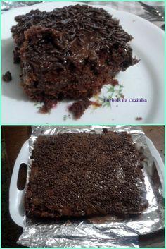 bolo brigadeiro zero açúcar