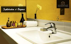 A perfect example of Sophistication and Elegance.   Refresh yourself in the plush bathroom artistically designed with a blend of classiness and all amenities, Pleasant Days offers the best experience to all its guests.   #PleasantDays #Hotels #Food #Resort #India #Travel #Holiday