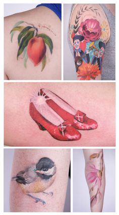 Incredible tattoos by NYC artist Amanda Wachob