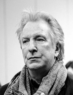 "alanprickman: """"""I'm very aware that when one is acting in the theater, you do become kind of animal about it. And you're reliant on instincts rather than tact a lot of the time."" — Alan Rickman "" """