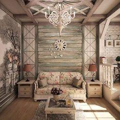 9,313 отметок «Нравится», 193 комментариев — Дизайн Интерьера (@dizain.interier) в Instagram: «Сделали бы себе такую гостиную?»