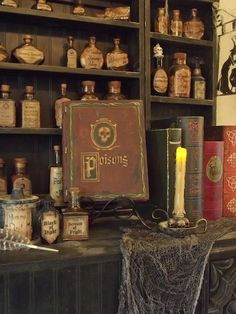 Incredible witches kitchen...