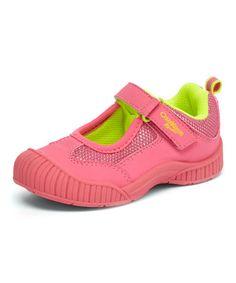 Loving this Pink Suki Mary Jane on #zulily! #zulilyfinds