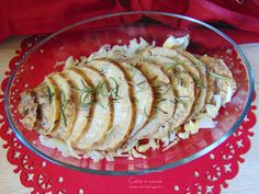 sedano rapa arrosto Antipasto, Ratatouille, Food And Drink, Cooking, Ethnic Recipes, Vegan Ideas, Life, Style, Vegetarian