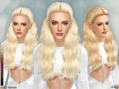The Sims Resource: Hannah hairstyle by Cazy - Sims 4 Hairs - http://sims4hairs.com/the-sims-resource-hannah-hairstyle-by-cazy/