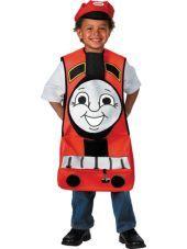 Toddler Boys Thomas the Tank Engine James Costume-Party City