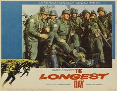 The Longest Day Long Day, I Movie, Good Movies, Baseball Cards, Gallery, Movie Posters, Image, Military, Places