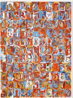 jasper johns Numbers in Color print for sale. Shop for jasper johns Numbers in Color painting and frame at discount price, ships in 24 hours. Tachisme, Robert Rauschenberg, Roy Lichtenstein, Jackson Pollock, Pop Art, Cultura Pop, Andy Warhol, Collages, Neo Dada