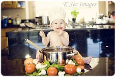 Unique-9-month-old-Baby-Boy-Pictures-Milestones-Creative-Fun-Food-Themed-Photoshoot-Chef-Style-eating-Spaghetti-Southern-and-Medford-Oregon-Photography-K-See-Images-Photographer.jpg 900×600 píxeles