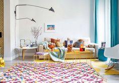 Decorados a todo color. Vitalidad en el centro de Madrid - Blog decoración y Proyectos Decoración Online