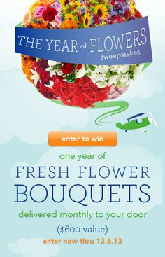 Send Flowers' The Year Of Flowers Sweepstakes ends 12/6 - See more at: http://www.ezeebuxs.com/send-flowers-year-flowers-sweepstakes-ends-126/#sthash.4jjc7EWa.dpuf
