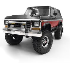 RC Car Accessories Metal Front Bumper W/ LED Light for TRAXXAS TRX-4 Ford Bronco | eBay