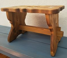 Our hand-painted farm furniture was made of solid wood, spruce and the surface was treated with oil and beeswax. Painted Stools, Hand Painted Furniture, Outdoor Furniture, Outdoor Decor, Entryway Tables, Solid Wood, Bench, Home Decor, Cottage Chic