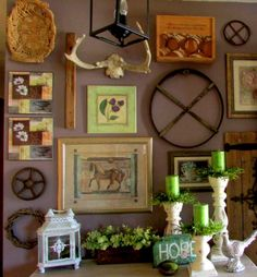 Rustic & Refined: Spring at Home ~ Rustic Style