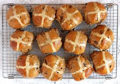 BEST Gluten Free Hot Cross Buns Recipe (traditional fruit)