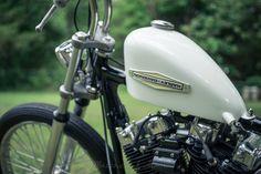 thejadedandfaithless:  Progress 7/29/2014 Matthew J. Aims . Harley Harley-Davidson Harley Davidson shovelhead gas tank Details