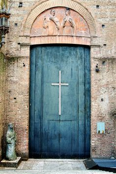 Rosamaria G Frangini | Architecture Doors |  Church door in Italy.