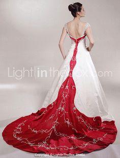ULTREIA - Vestido de Noiva em Cetim - R$ 611,01