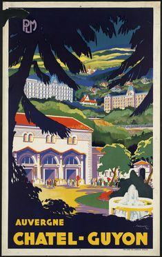 Chatel-Guyon  : département : Puy de Dôme, région : Auvergne