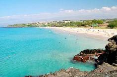 Hapuna Beach State Park - Most Famous beach in Big Island, Hawaii