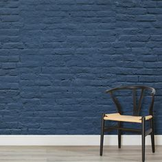 deep-blue-brick-wall-mural-textures-square-wall-mural