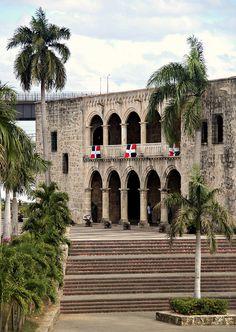 Grew up walking around here....Diego Colon's house; the almirante's son.  Santo Domingo, Dominican Republic