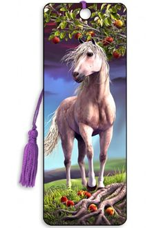 Artgame 3D Horse Heaven Bookmark