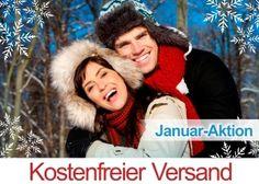 Unsere Januar Aktion: weiterhin kostenfreier Versand!
