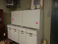 Best 1950 S Metal General Electric Cabinets Kitchen Mid 640 x 480