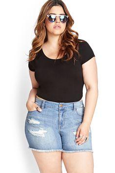 Best Plus-Size Shorts - Curvy Bodies Summer Styles