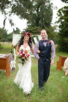 wilmington nc bride and groom http://trendybride.net/wilmington-nc-boho-inspired-wedding-shoot/ {eric boneske photography}