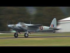 Awesome twin-Merlin sounds and great video of Keith Skilling and Dave Philips putting the newly restored World War 2-era Mosquito FB.26 fighter bomber through its paces during the aircraft's second display at Ardmore Aerodrome in Auckland, New Zealand.