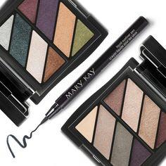 Pra ter aquele make tendência em todas as ocasiões, você precisa das combinações de cores dos novos Quartetos Minerais de Sombras e do novíssimo Delineador Líquido em Caneta. #musthave #makeuplovers #eyes #beauty