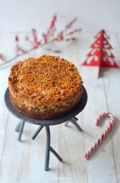Tosca cake ~ Gâteau suédois aux amandes caramélisées.