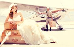 Airplane Bridal Story by Jim Jordan, via Behance