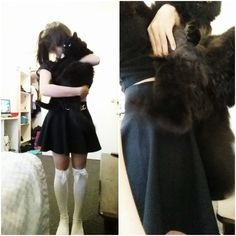 the quality isn't too good but my cat is so fluffy   (=^-ω-^=)