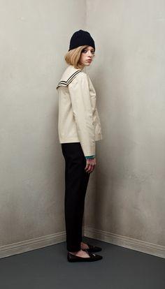 peter jensen - Nice fall coat.