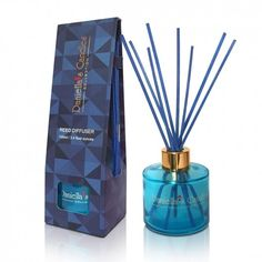 Luxury Reed Diffuser 100ML Blue Our collection of reed diffusers will make your home your personal oasis. #reed diffuser #airfreshener #home scent