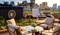 The Surrey: The Surrey's 2,200-square-foot private roof garden has unrivaled views of Central Park.