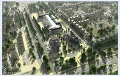 Town-planning Concept.Balakovo