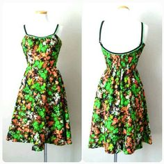 Hey, I found this really awesome Etsy listing at https://www.etsy.com/listing/265644872/1950s-swimming-dress-deweese-design