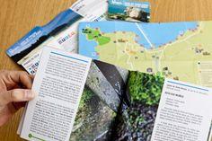 Material de promoción do turismo doConcello de Bueu. Materiais: Imaxe corporativa, folletos desplegables informativos, mapa rueiro, maqueta...